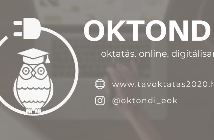 OKTONDI, az online távoktatás